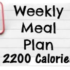 best 2200 calorie diet plan