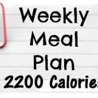 best 2200 calorie diet plan